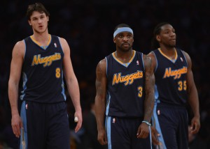 The Nuggets are fast but only Faried is furious.