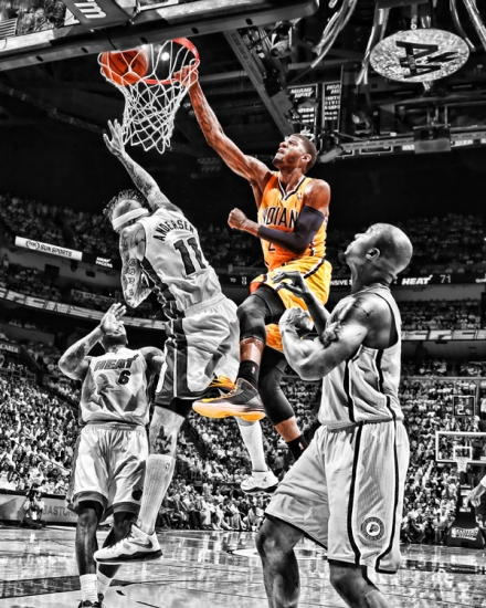 If you love the NBA, or Paul George, or both the NBA and Paul George, this would be  the poster you should buy.