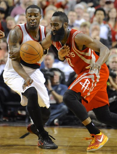 Wes Mathews is keeping James Harden awake all night.