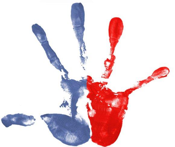 A Representation of Kawhi Leonard's massive hand. Sean Manchester/New York Times